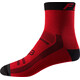 "Fox 6"" Trail Socks Men bright red"